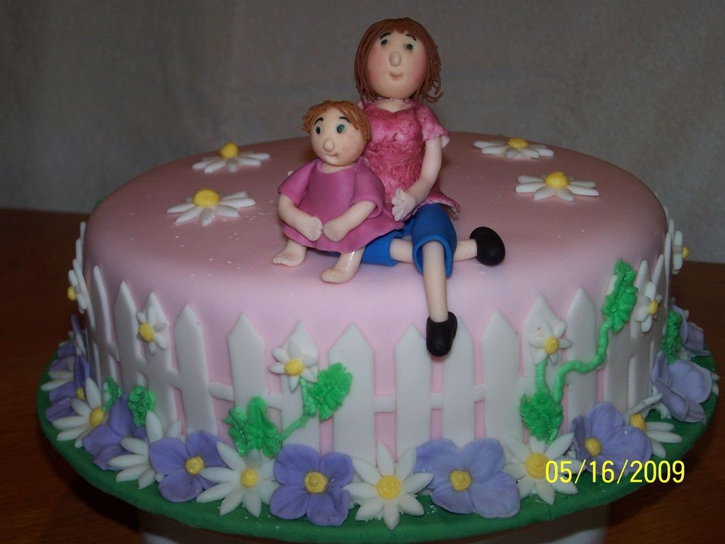 Mother Daughter Birthday Cake Cakecentral