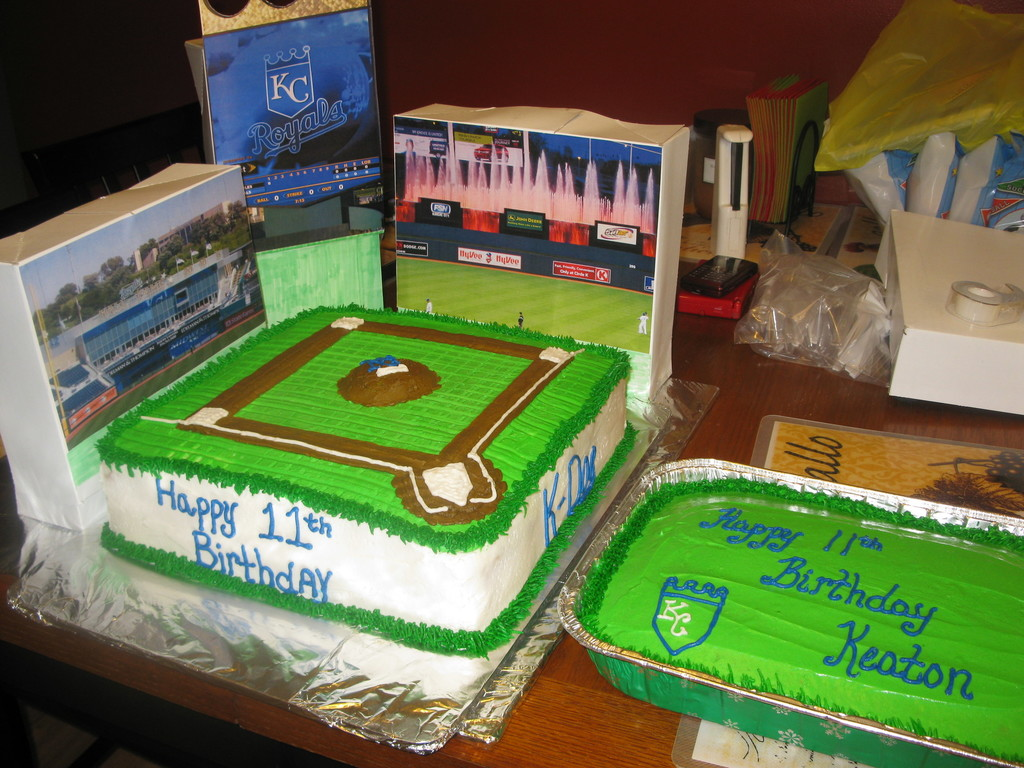 Fine Kansas City Royals Birthday Cake Cakecentral Com Funny Birthday Cards Online Overcheapnameinfo