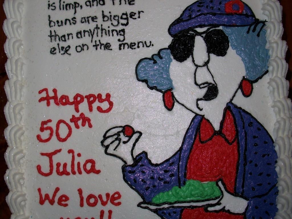 Julias Birthday Cake Cakecentral