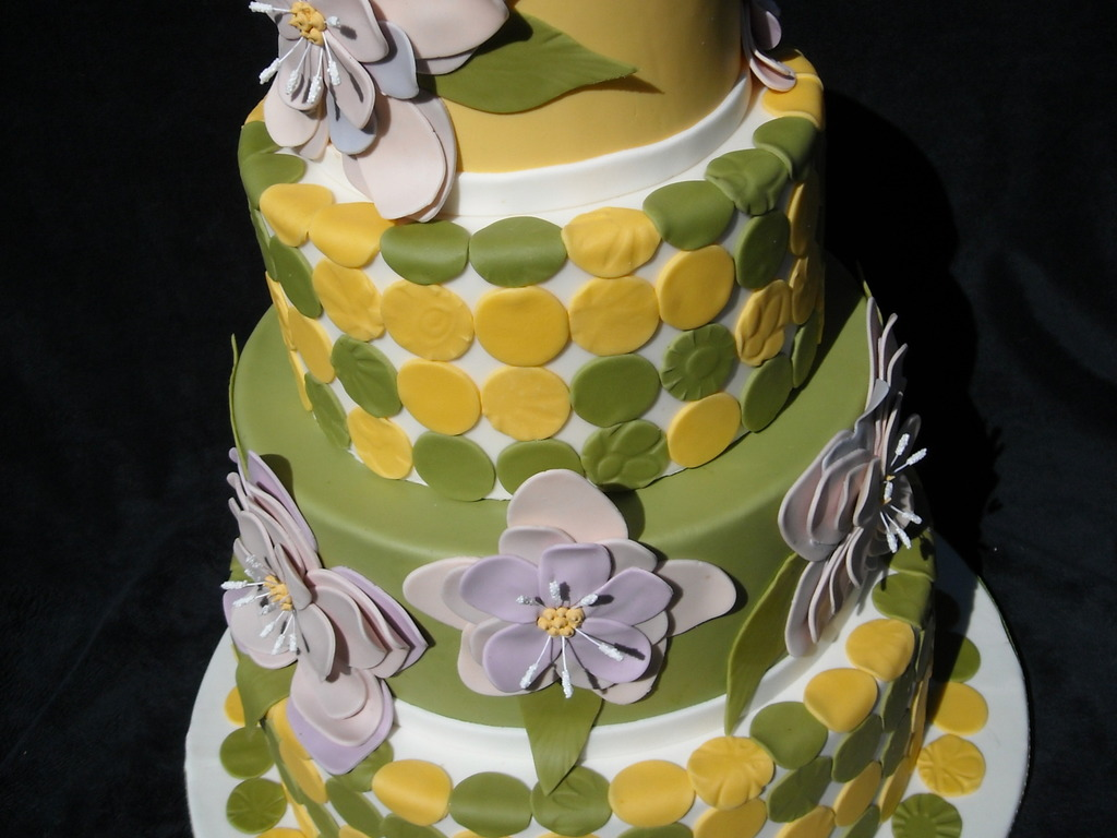 lavender mustard yellow and olive green cakecentral com