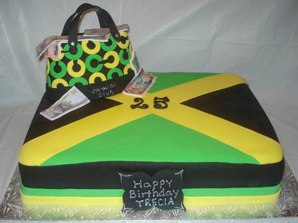 Jamaican Diva Cake CakeCentralcom
