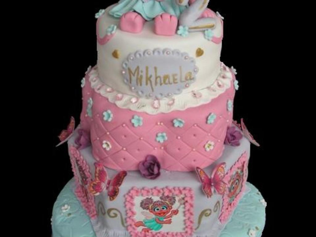 Swell Abby Cadabby Birthday Cake Cakecentral Com Personalised Birthday Cards Veneteletsinfo