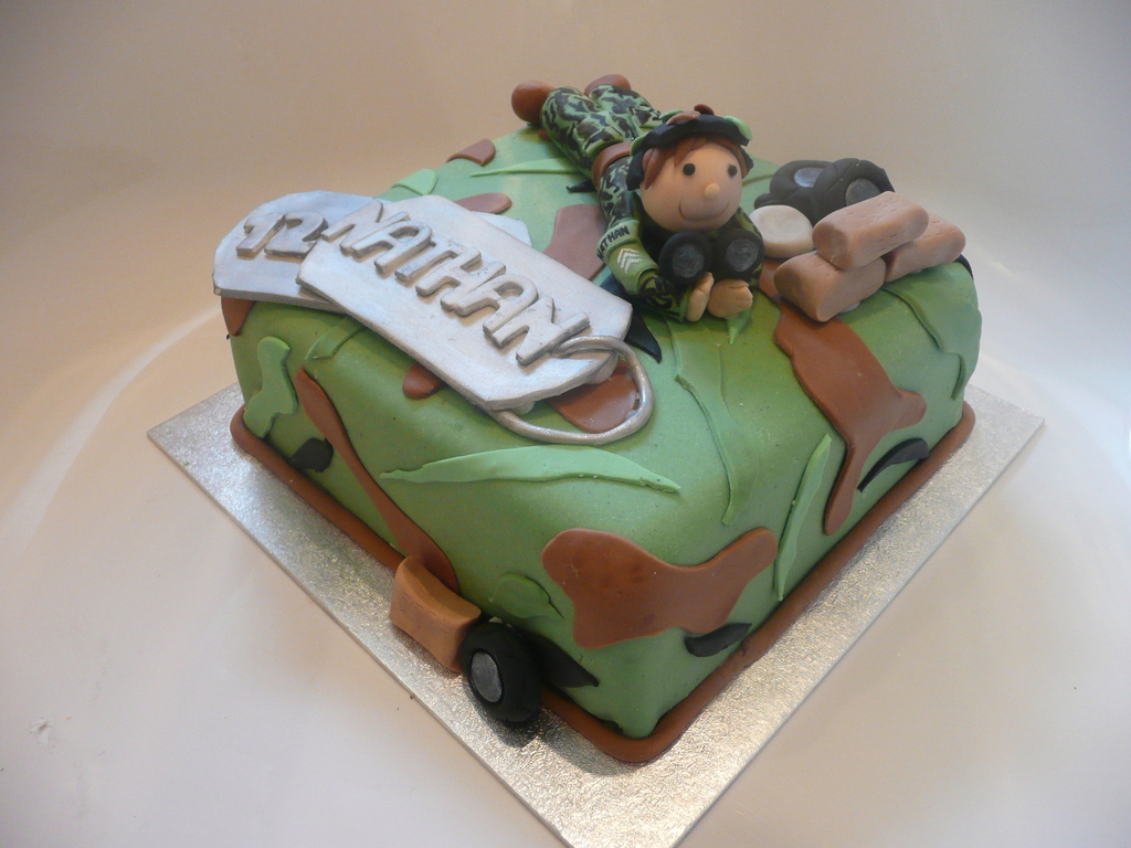 Similiar Army Party Cake Keywords Army Decorated Cakes smartprosus