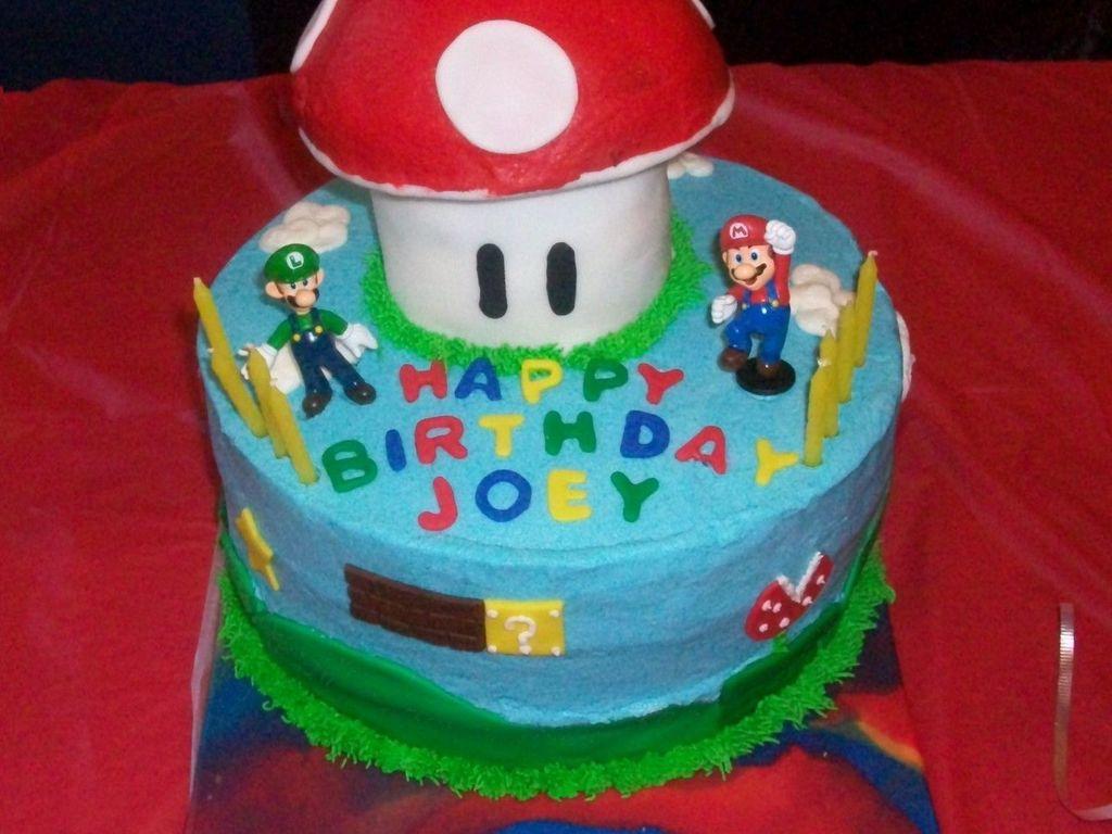Astonishing Mario And Luigi Birthday Cake Cakecentral Com Funny Birthday Cards Online Unhofree Goldxyz