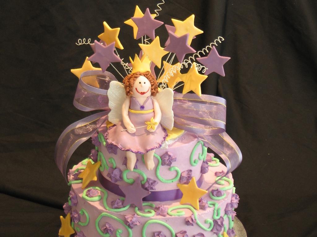 Verity\u0027s 3Rd Birthday Cake , CakeCentral.com