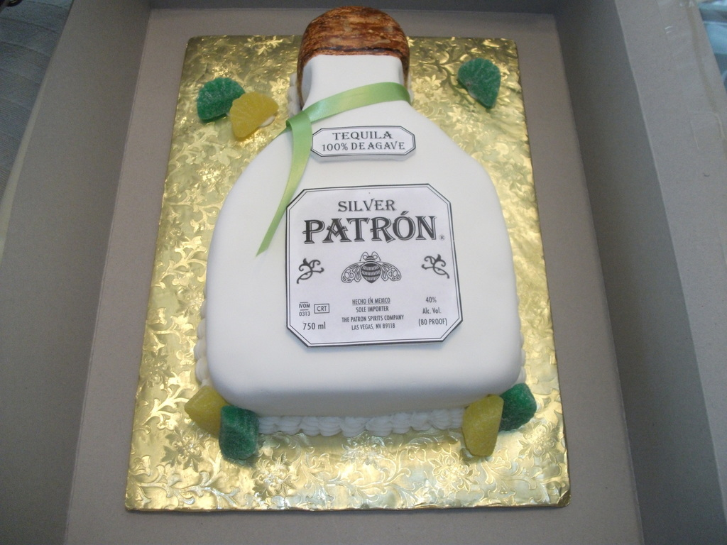 Pleasing Patron Cake Cakecentral Com Personalised Birthday Cards Veneteletsinfo