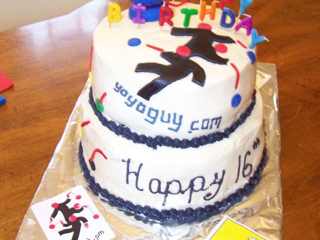 Peachy Boys 16Th Birthday Cake Cakecentral Com Funny Birthday Cards Online Chimdamsfinfo