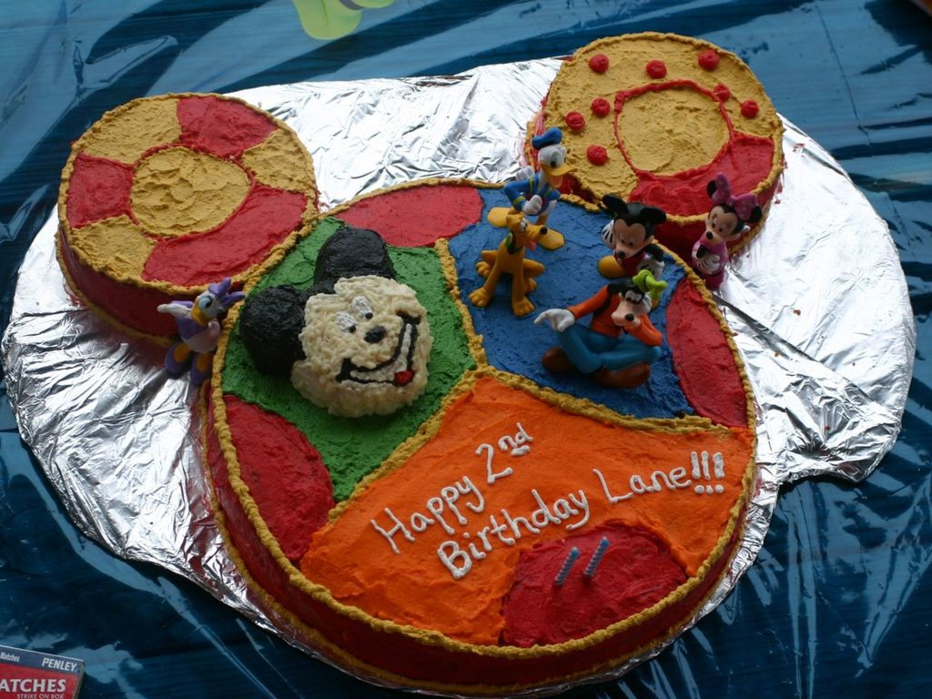 Stupendous Mickey Mouse Clubhouse Toodles Cake Cakecentral Com Funny Birthday Cards Online Alyptdamsfinfo