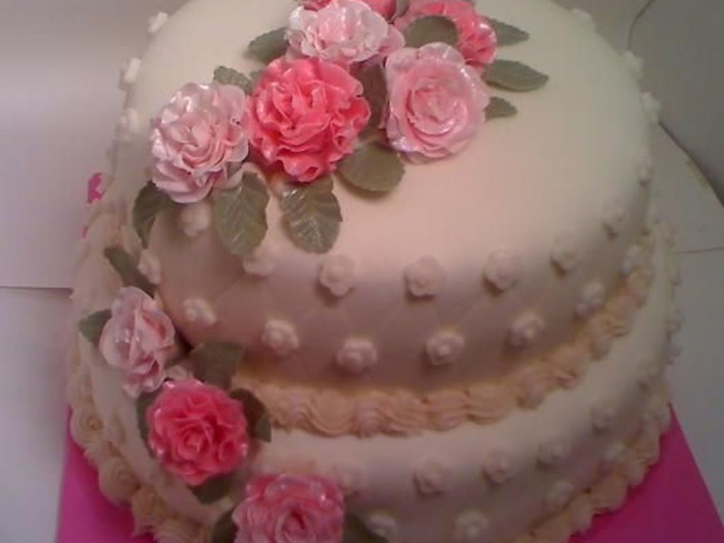 shabby chic roses birthday cake cakecentral com on birthday cake ki photos