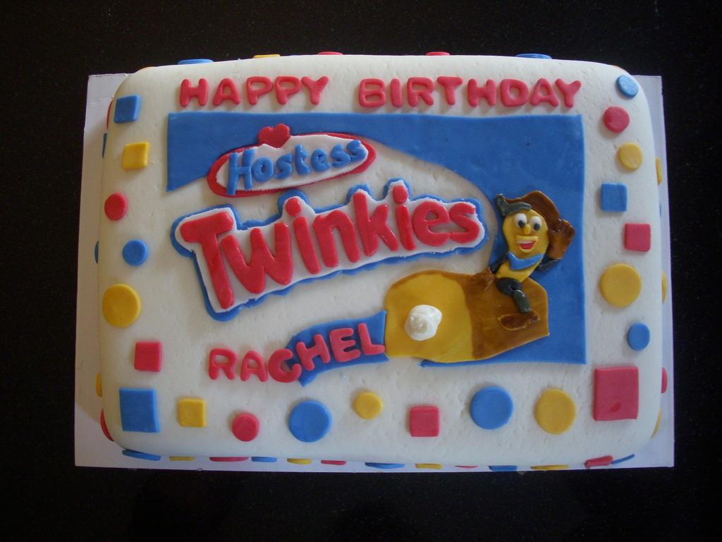 Astonishing Twinkie Birthday Cake Cakecentral Com Birthday Cards Printable Benkemecafe Filternl