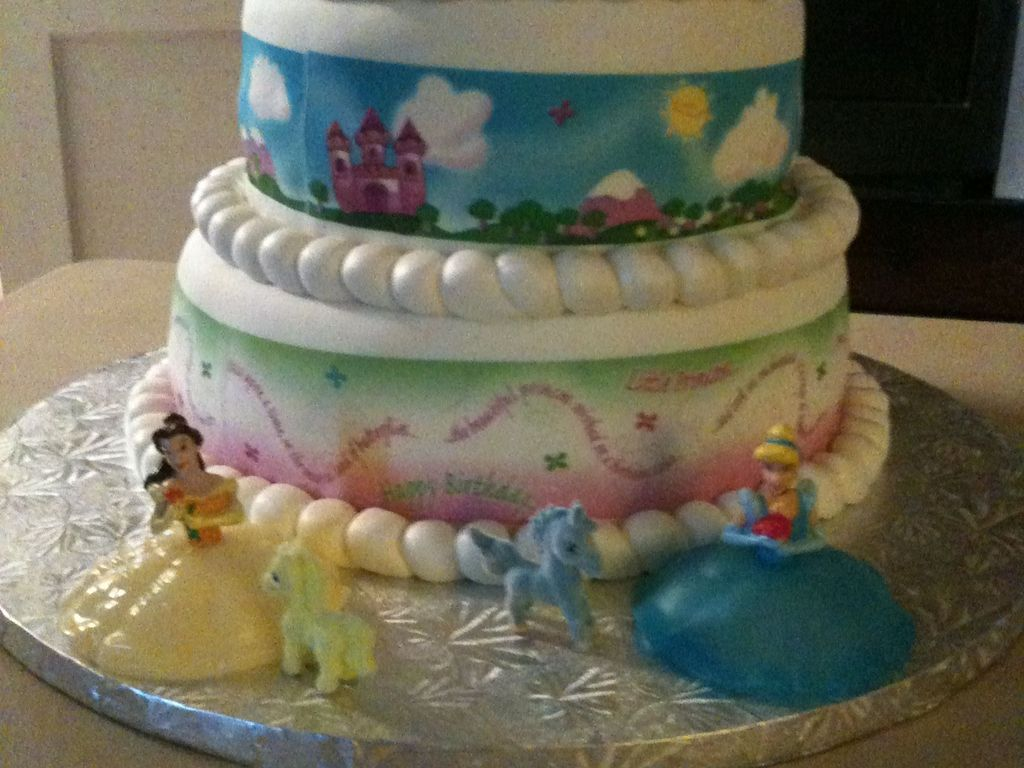 Princess Unicorn Birthday Cake