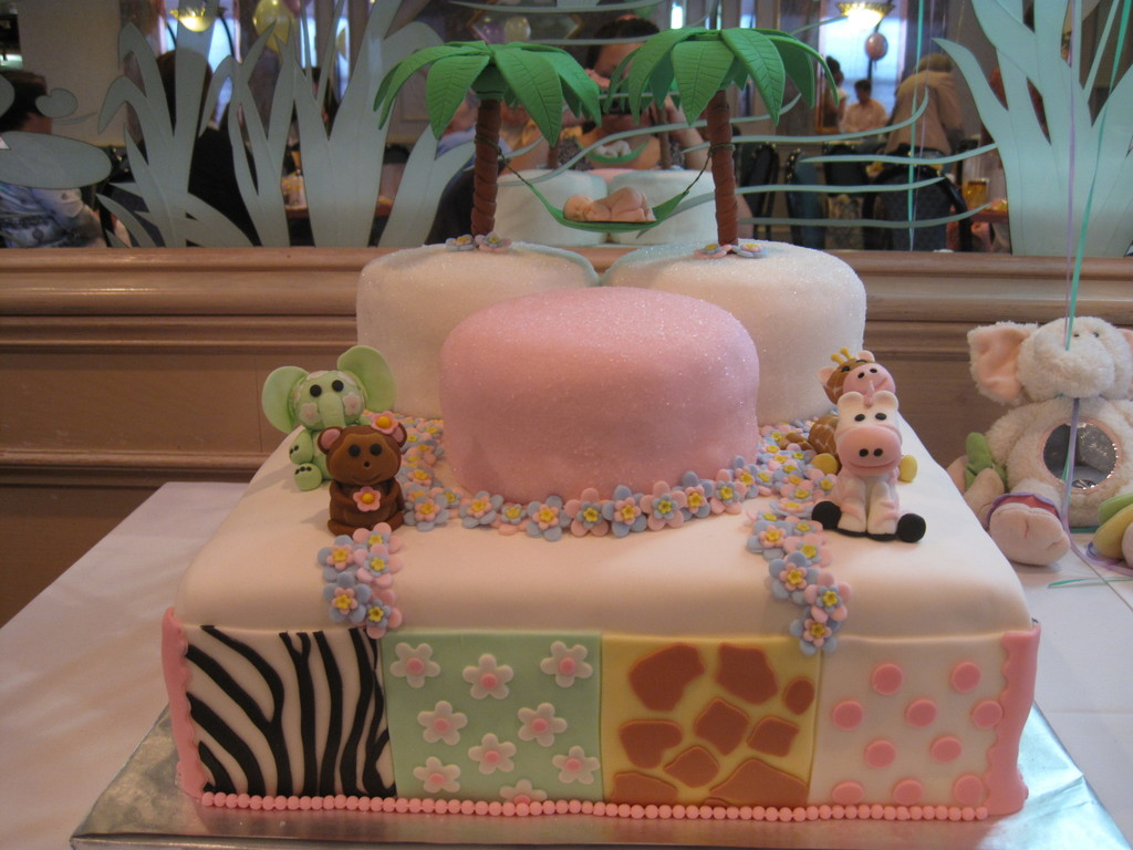 Jungle Jill Baby Shower Cake Cakecentralcom