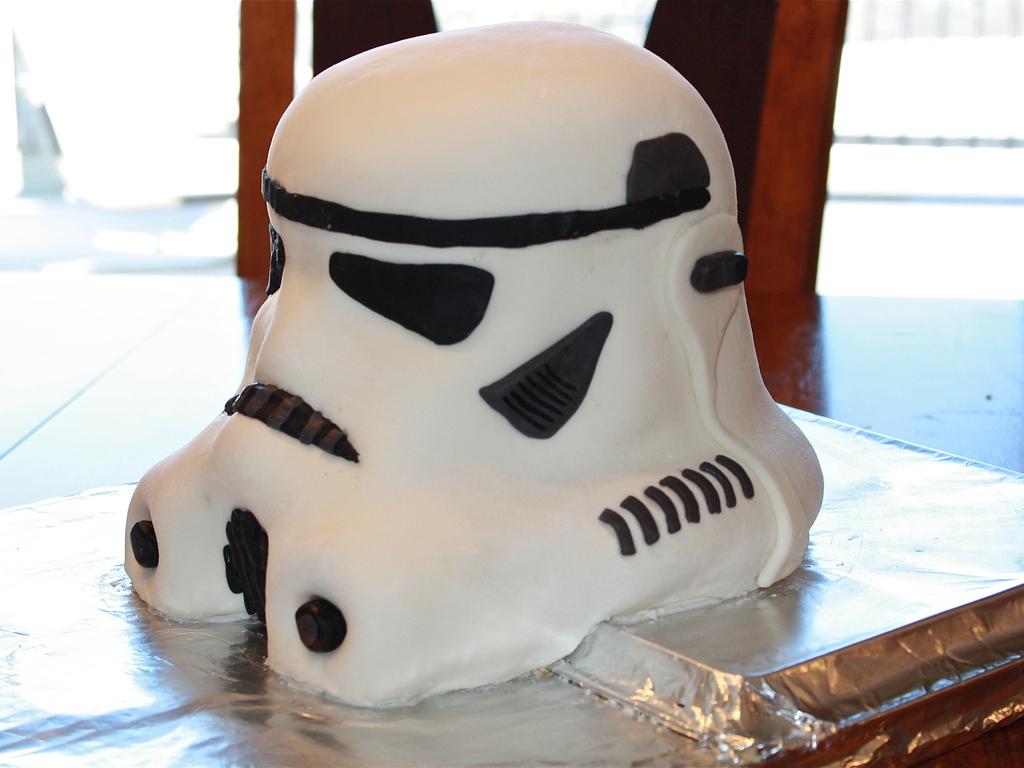 How To Make Stormtrooper Helmet Cake Bcca