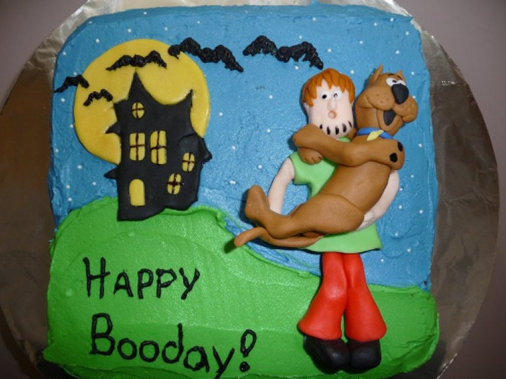 shaggy and scooby doo halloween cakecentralcom - Scooby Doo Halloween Decorations
