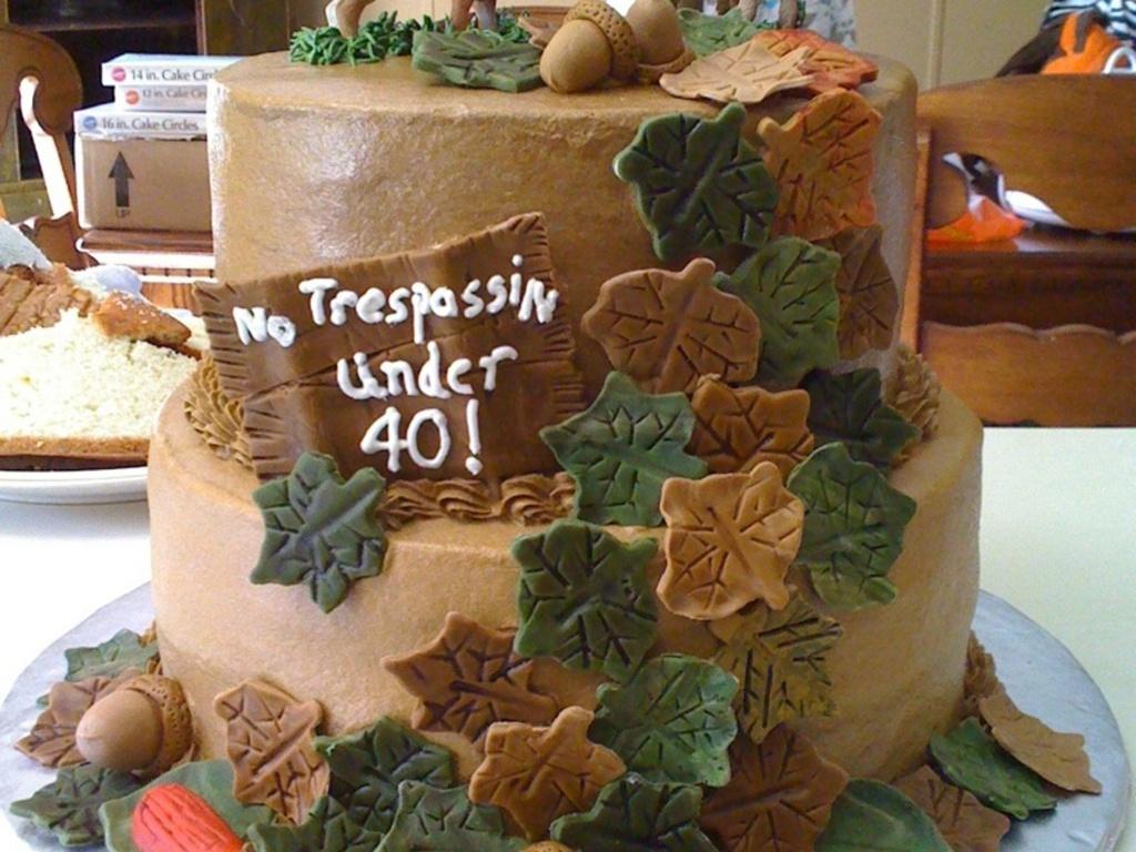 Amazing Deer Hunters Birthday Cake Cakecentral Com Funny Birthday Cards Online Elaedamsfinfo