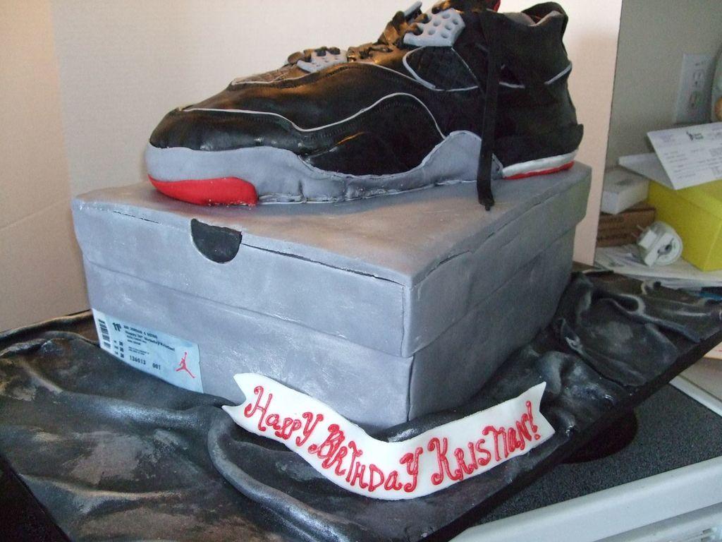 Air Jordan Birthday Cake CakeCentralcom