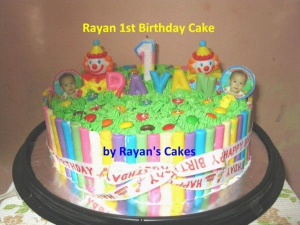 My First Birthday Cake For My Baby Boy CakeCentralcom