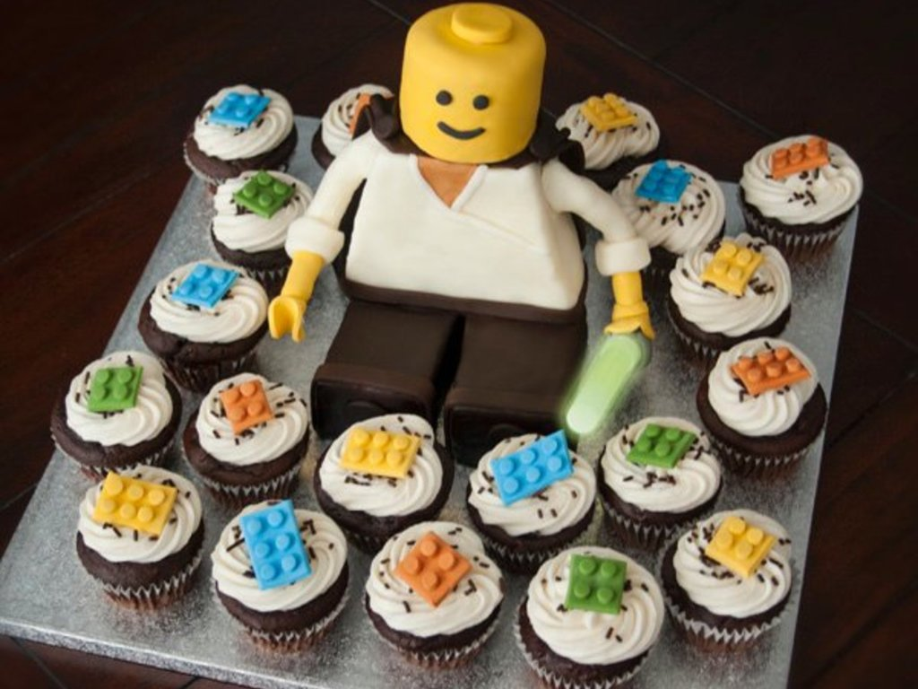Superb 5 22 10 Lego Star Wars Birthday Cupcakes Cakecentral Com Funny Birthday Cards Online Overcheapnameinfo
