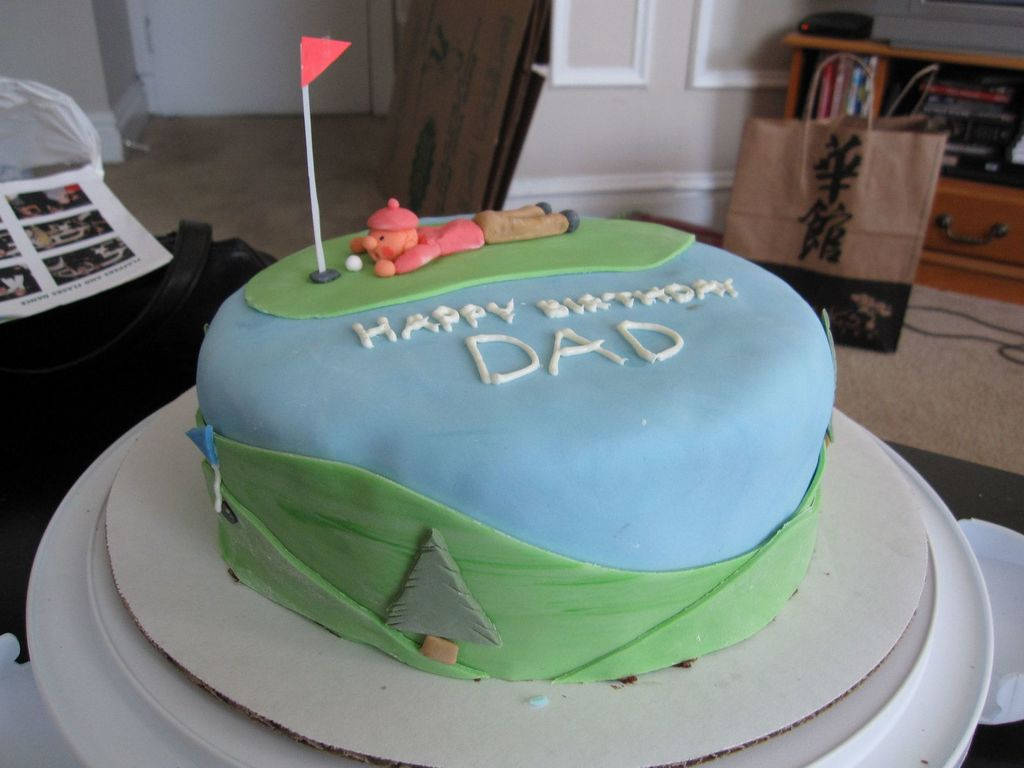 Dads Birthday Cake CakeCentralcom