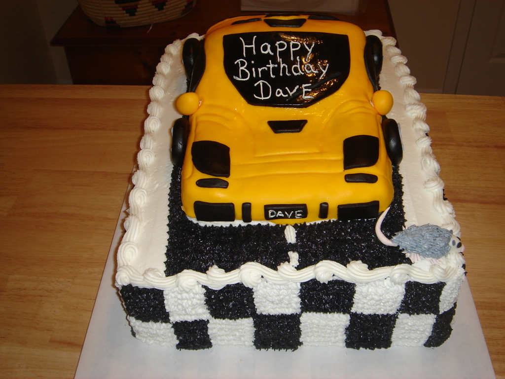 Dave\'s Birthday Dream Car - CakeCentral.com