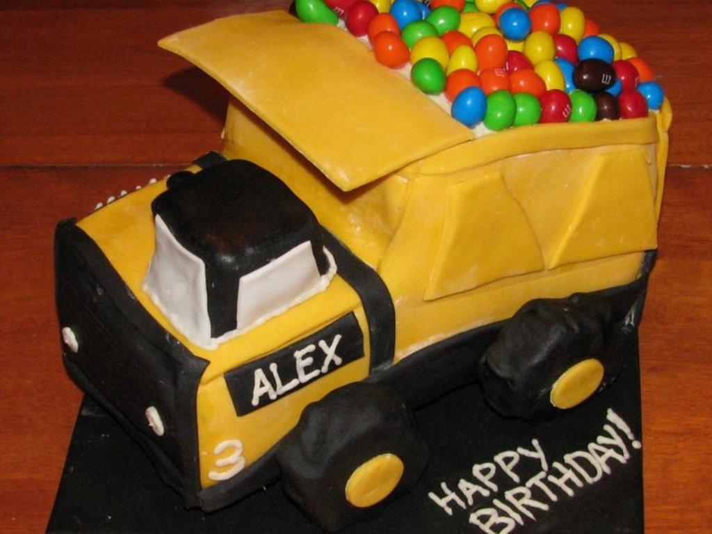 Marvelous Tonka Truck Cakecentral Com Funny Birthday Cards Online Necthendildamsfinfo