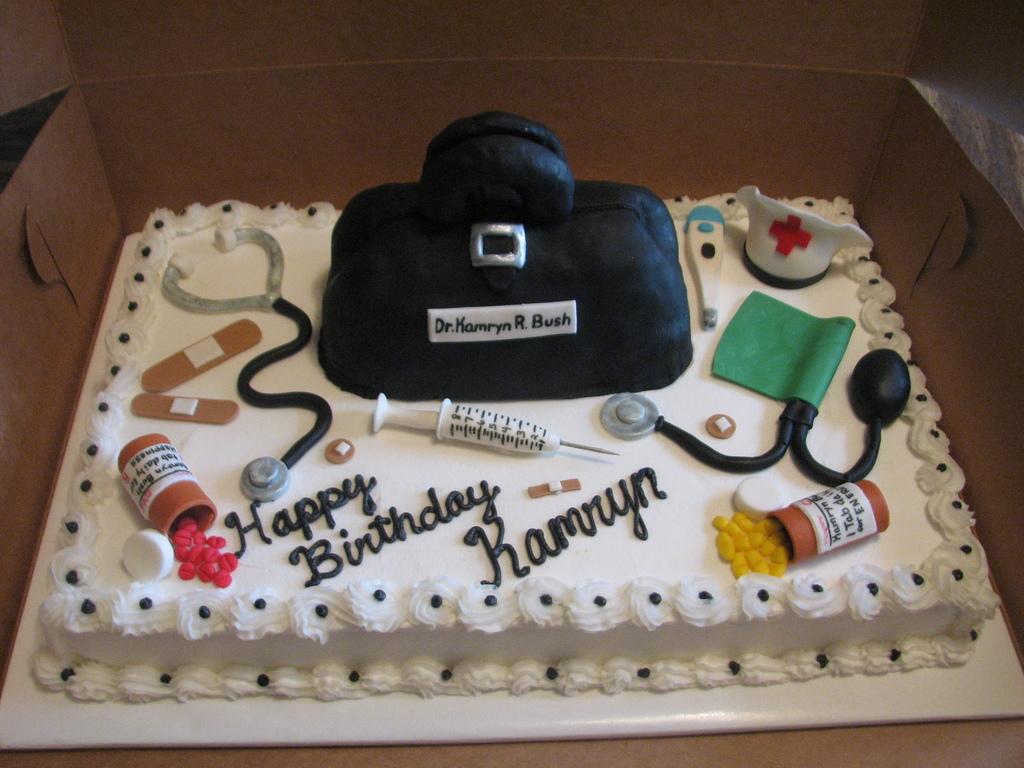 Doctornurse Themed Cake Cakecentral