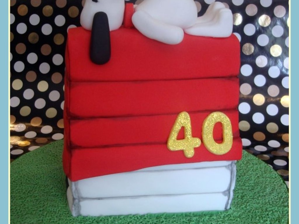 Snoopy Woodstock Birthday Cake CakeCentralcom