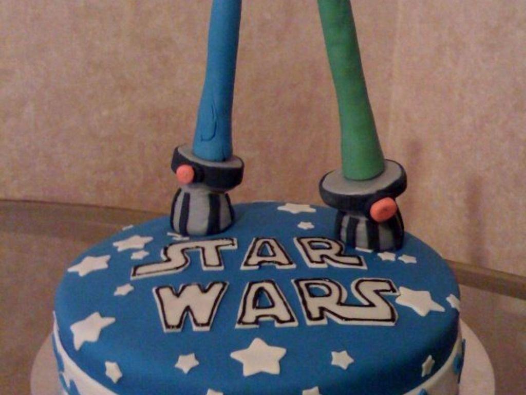 Prime Star Wars Lightsaber Cake Cakecentral Com Funny Birthday Cards Online Sheoxdamsfinfo
