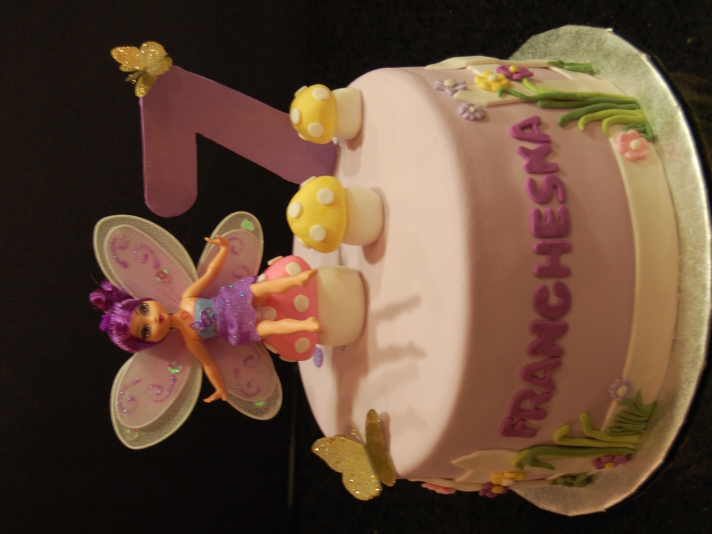 Amazing Flowers And Butterfly Themed Birthday Cake Cakecentral Com Funny Birthday Cards Online Overcheapnameinfo