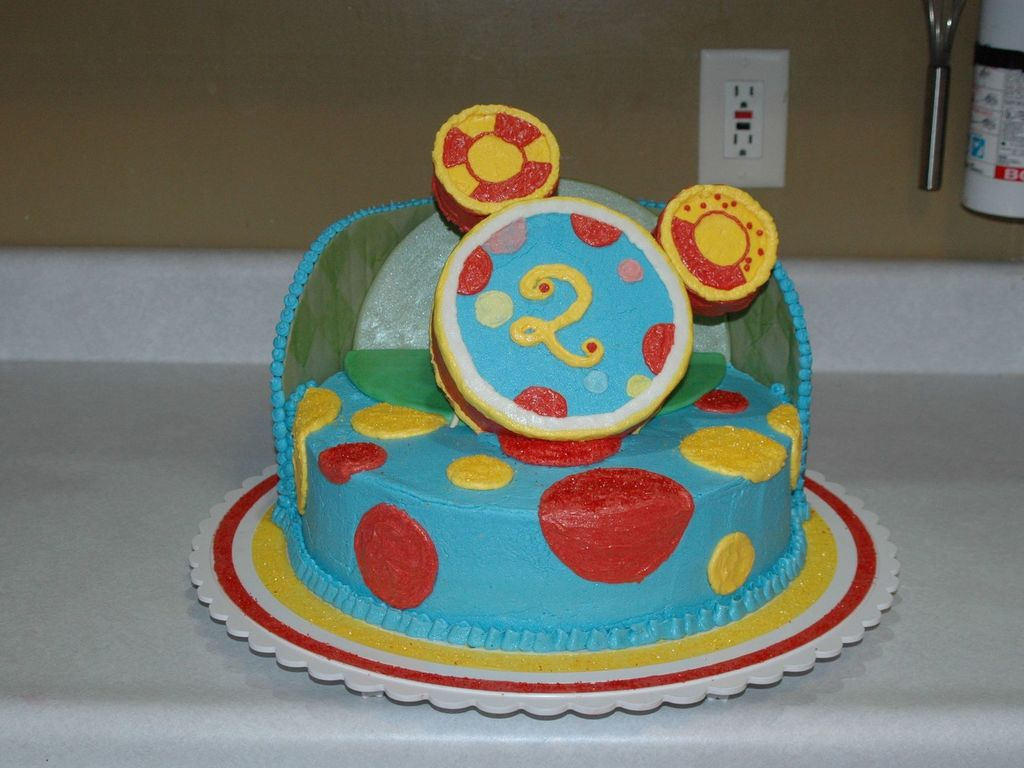 Fabulous Toodles From Mickey Mouse Clubhouse Cakecentral Com Funny Birthday Cards Online Alyptdamsfinfo