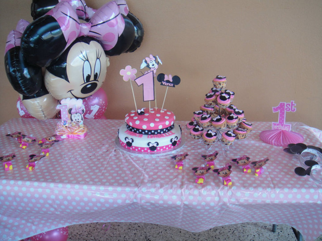 Minnie Mouse 1st Birthday Cake Cakecentral