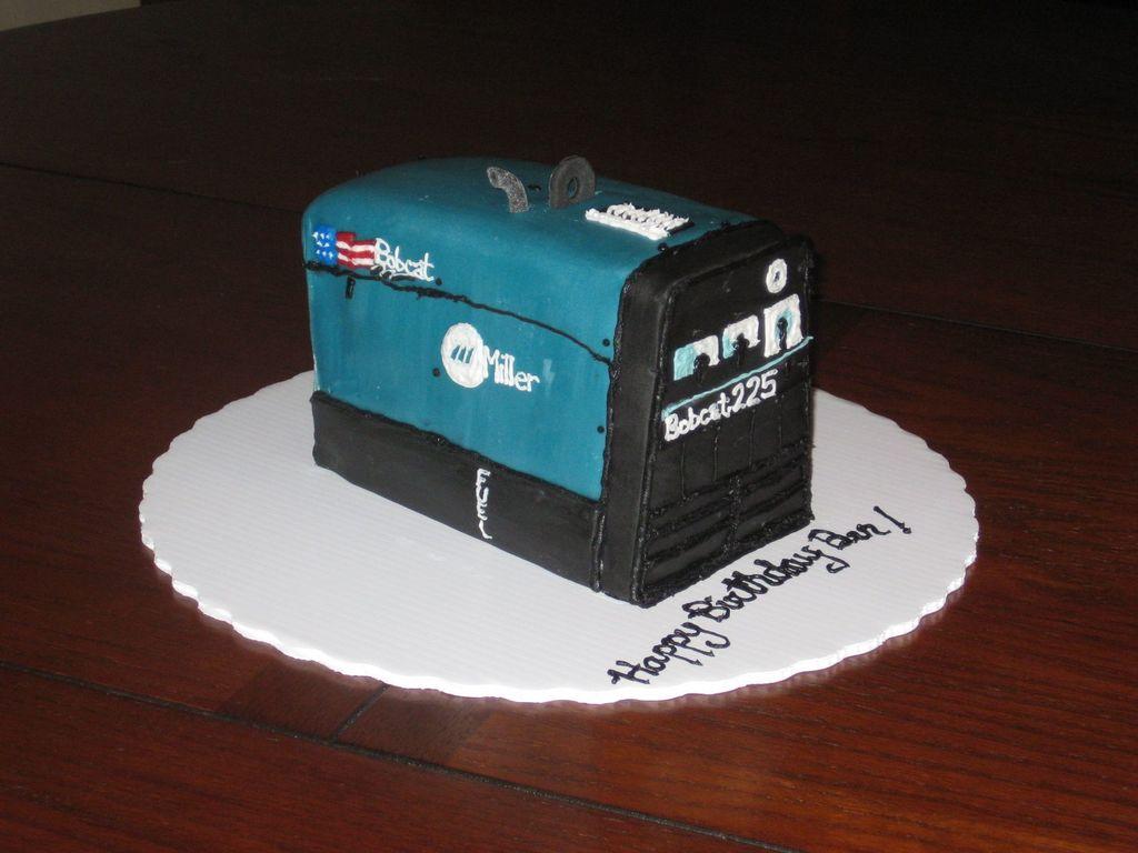 Miller Bobcat Welder Cake CakeCentralcom