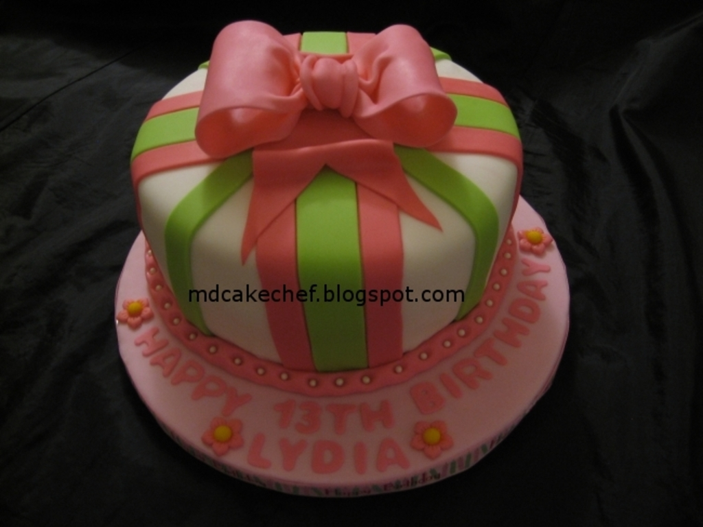 Incredible Birthday Cake For A 13 Year Old Girl Cakecentral Com Funny Birthday Cards Online Inifodamsfinfo