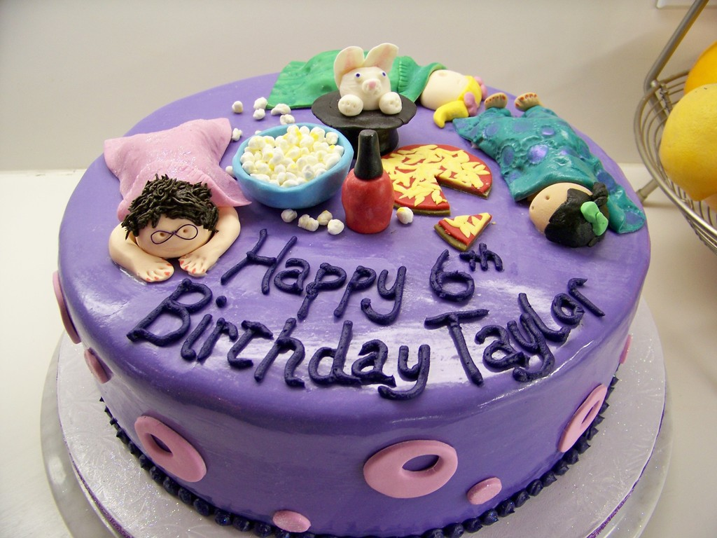 Surprising Sleepover Birthday Party Cake Cakecentral Com Funny Birthday Cards Online Inifodamsfinfo