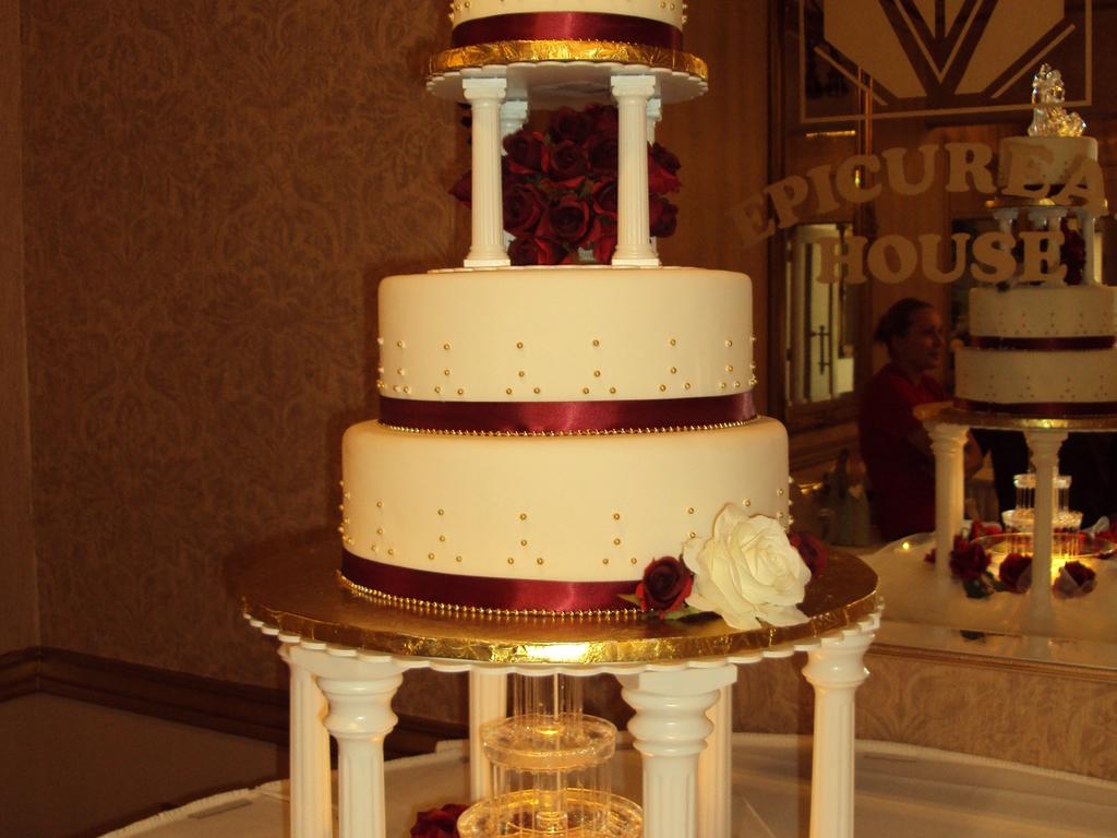 Fountain Wedding Cake - CakeCentral.com