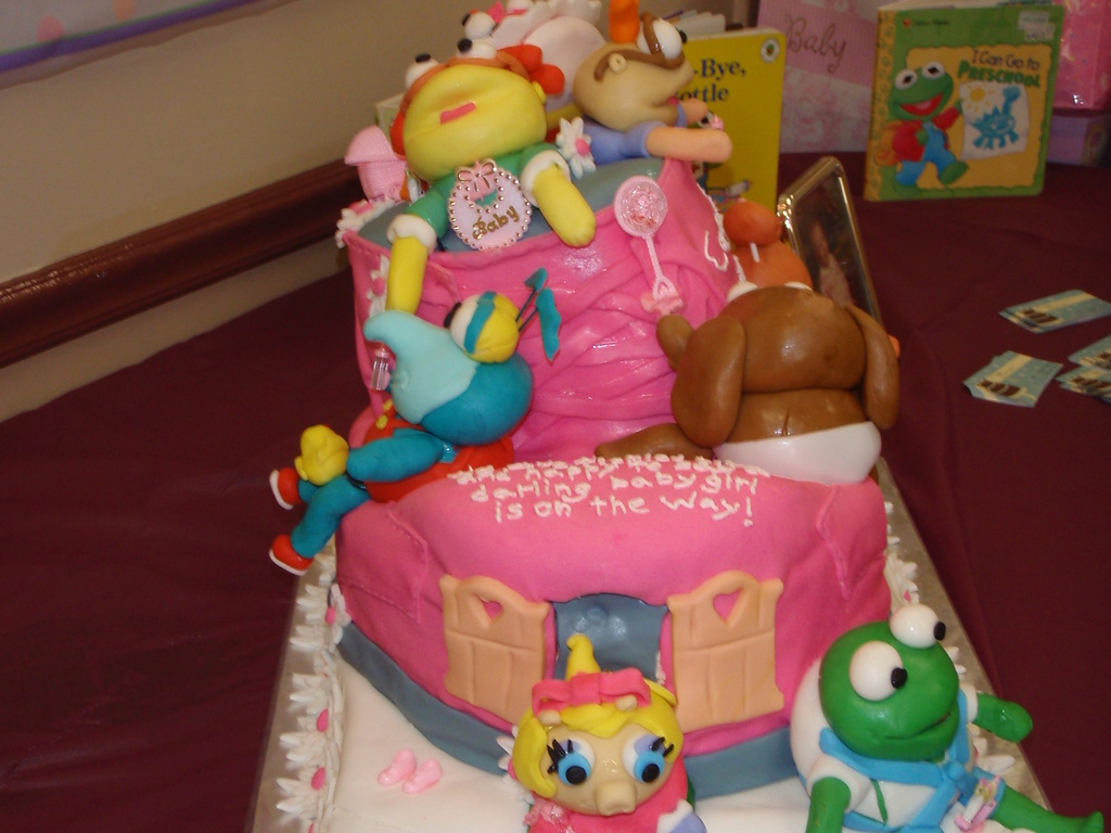 Muppet Babies Baby Shower Cake Cakecentral