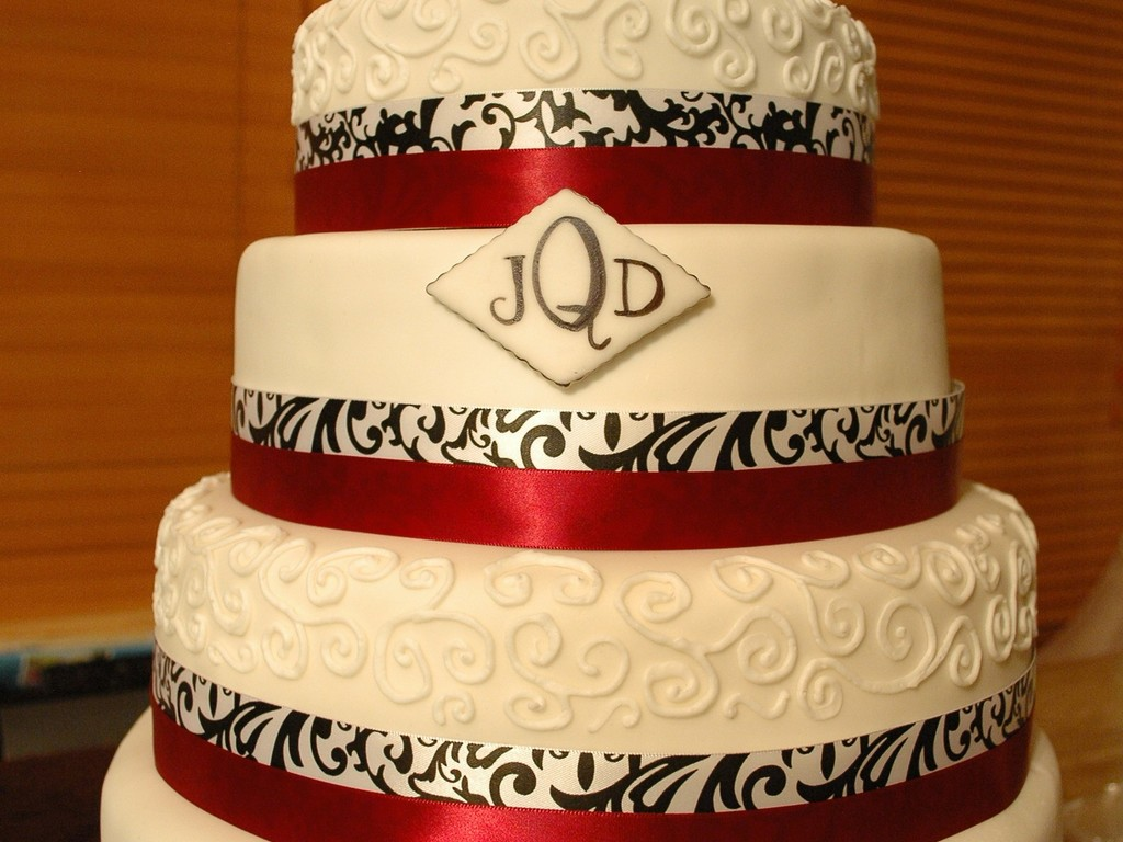 Black White And Red - CakeCentral.com