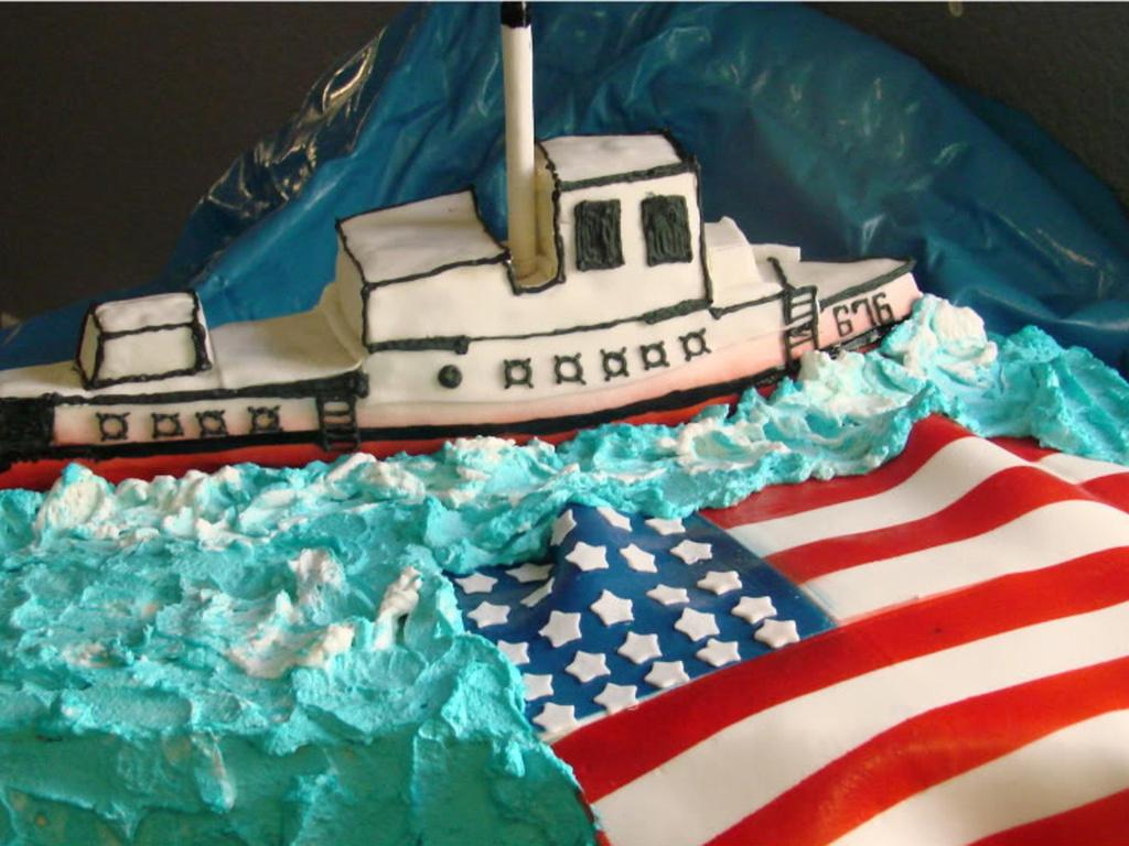 Superb Navy Birthday Cake Cakecentral Com Funny Birthday Cards Online Fluifree Goldxyz