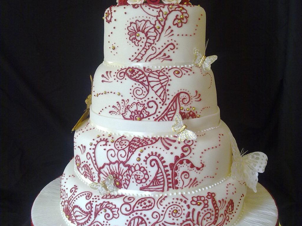 Mehndi Cake Download : Mehndi wedding cake cakecentral