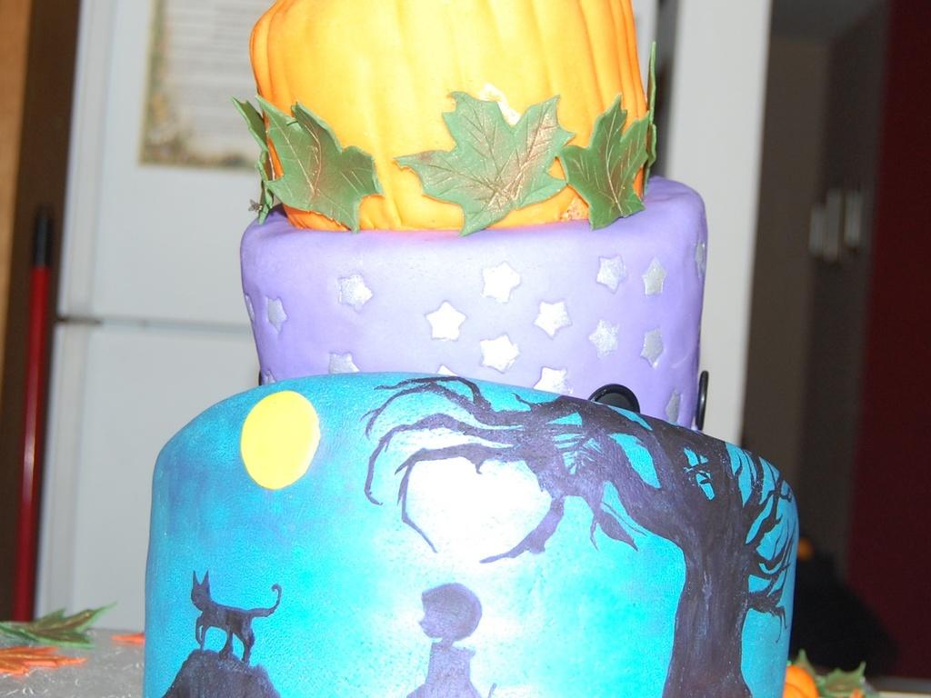 Remarkable Coraline Birthday Cake Cakecentral Com Funny Birthday Cards Online Inifodamsfinfo