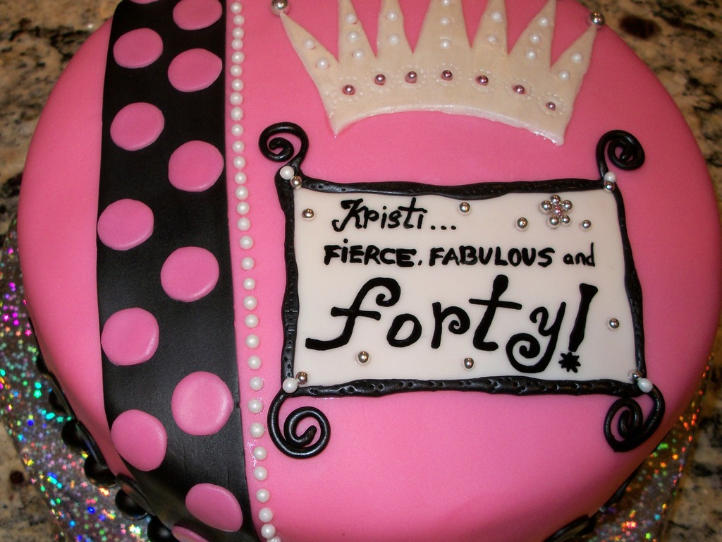 Fierce Fabulous Forty Cakecentral Com