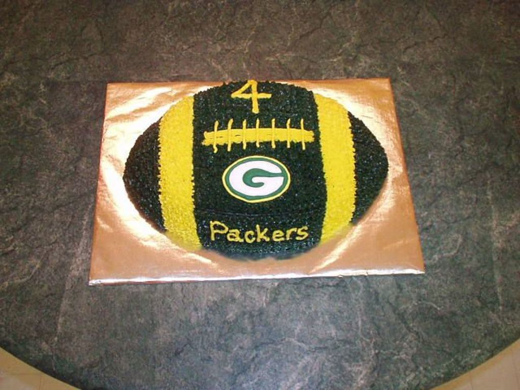 Green Bay Packers Football Cakecentral Com
