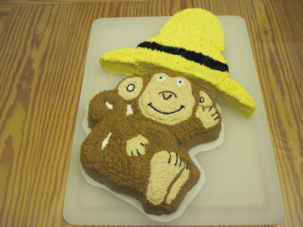 Curious George In The Big Yellow Hat Cakecentralcom
