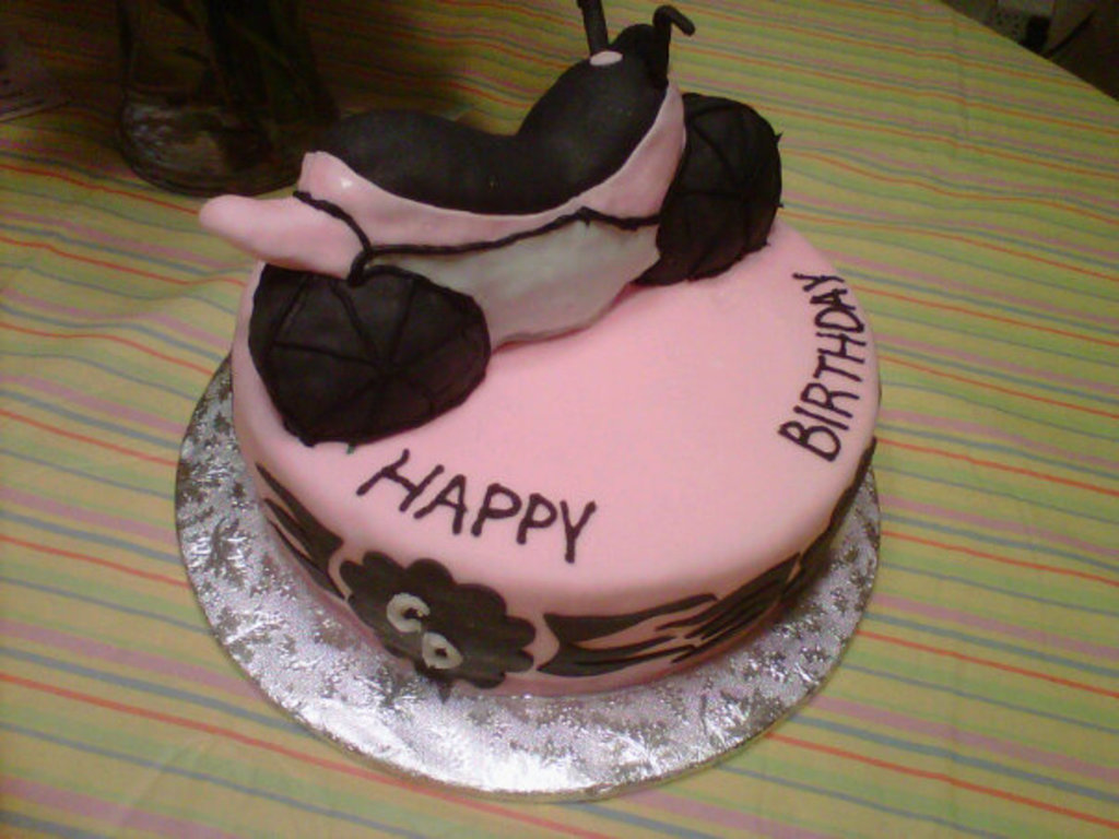 Biker Chick Cake CakeCentralcom