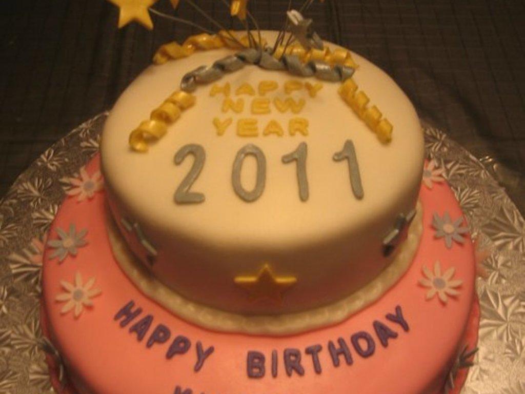 Happy New Year Birthday