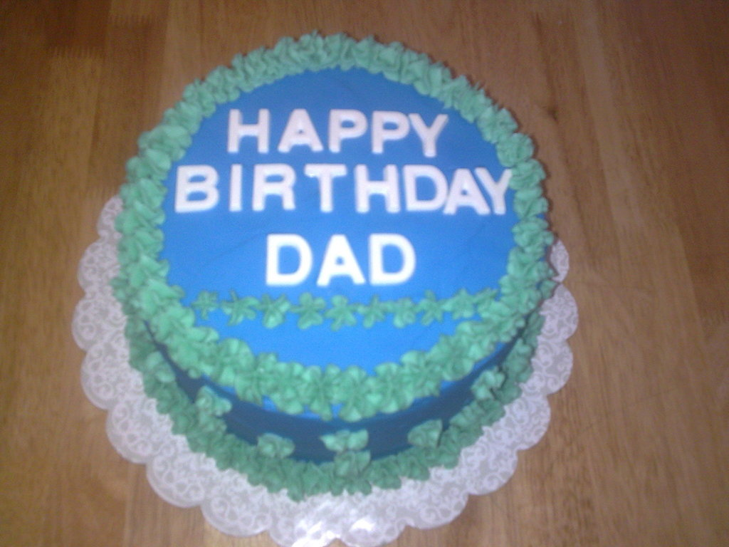 Simple Dad Birthday Cake Cakecentral