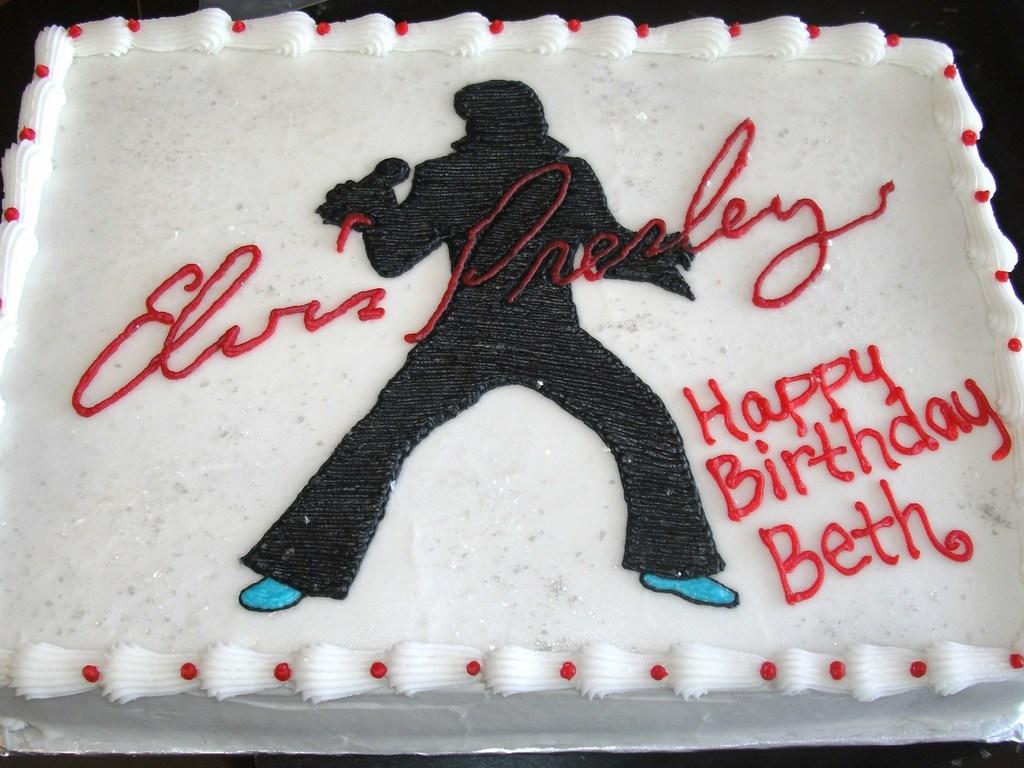 Elvis Presley Cakecentral
