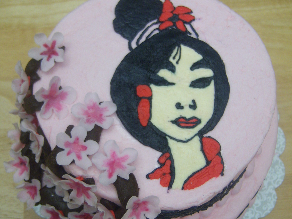 Miraculous Mulan Birthday Cake Cakecentral Com Funny Birthday Cards Online Bapapcheapnameinfo