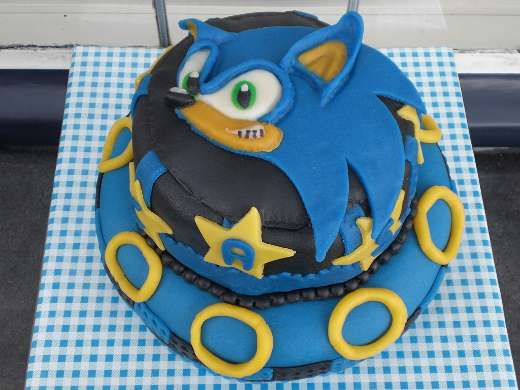 Sonic Birthday Cake For 7 Year Old