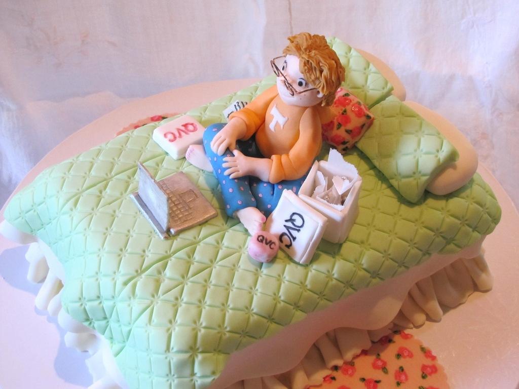 Qvc Sugar Shopper Cake - CakeCentral com